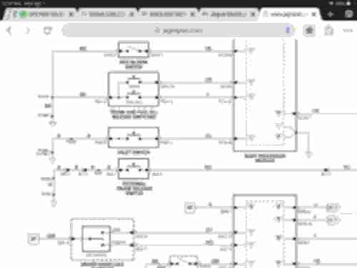 small resolution of have not fiound a 2004 wiring diagram yet this is a screenshot from jagrepairs com 2003 diagram showing the valet switch wires are b black ground and yu