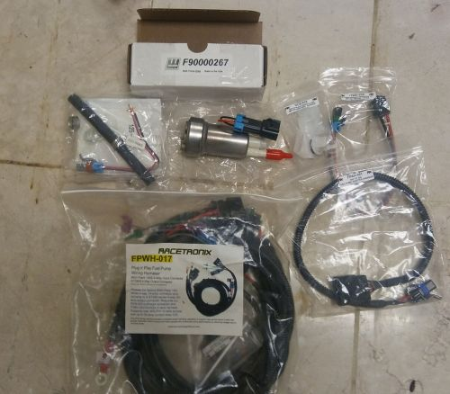 small resolution of walbro 450lph pump part f90000267 walbro install kit 400 0085 racetronix hotwire