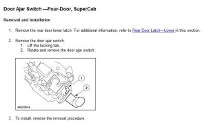 Door Switch Wiring  RangerForums  The Ultimate Ford
