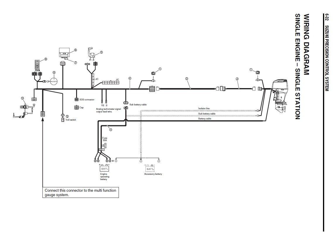 Suzuki Trim Gauge Wiring Diagram For Your Needs
