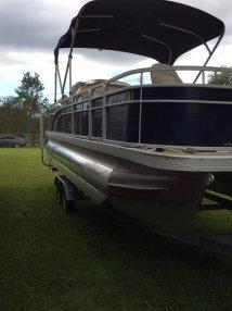 Bennington Pontoon Boat Bimini Top - Year of Clean Water