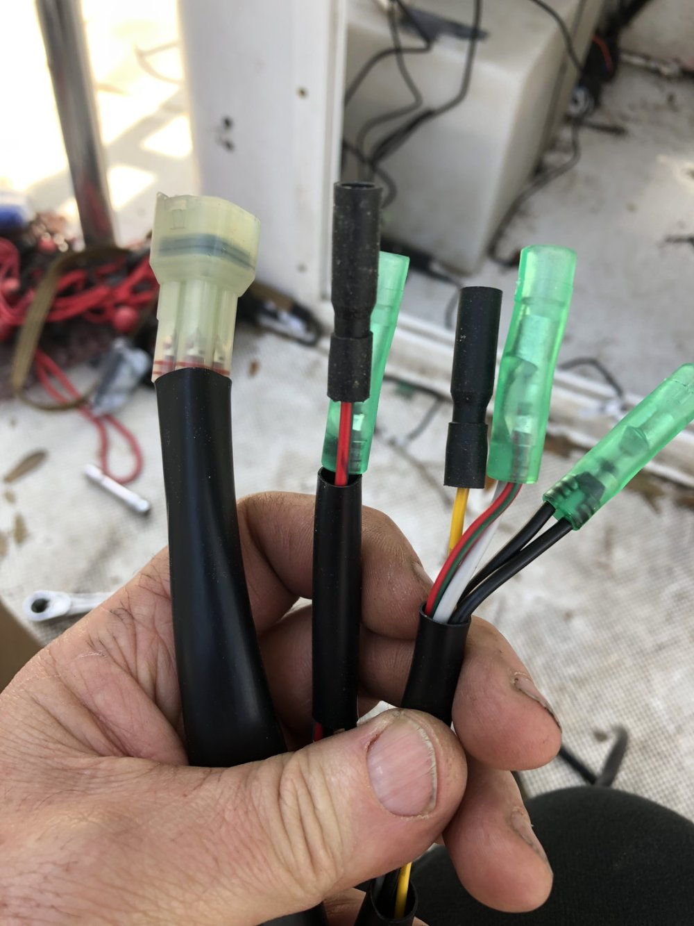 medium resolution of  pink from sending unit do i still need to use the plug in connectors for anything assuming will still need for ignition but how do i connect without