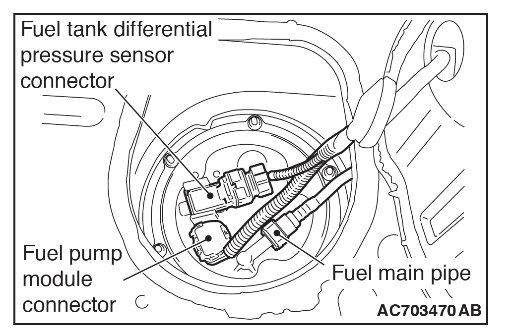 2014 Outlander Sport No-Start/Fuel Pump Wiring