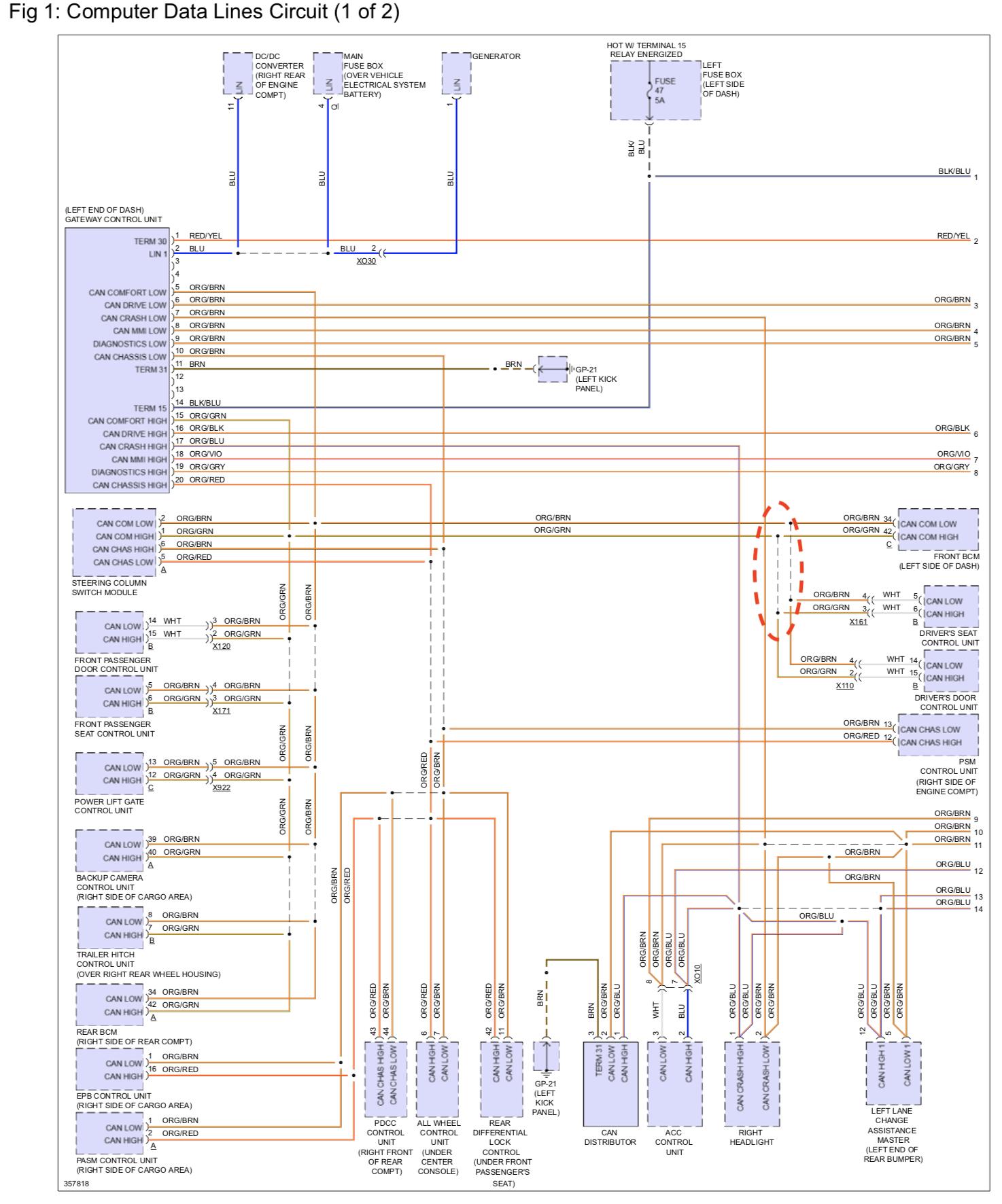 porsche wiring diagram 2017 induction motor door control unit troubleshooting rennlist