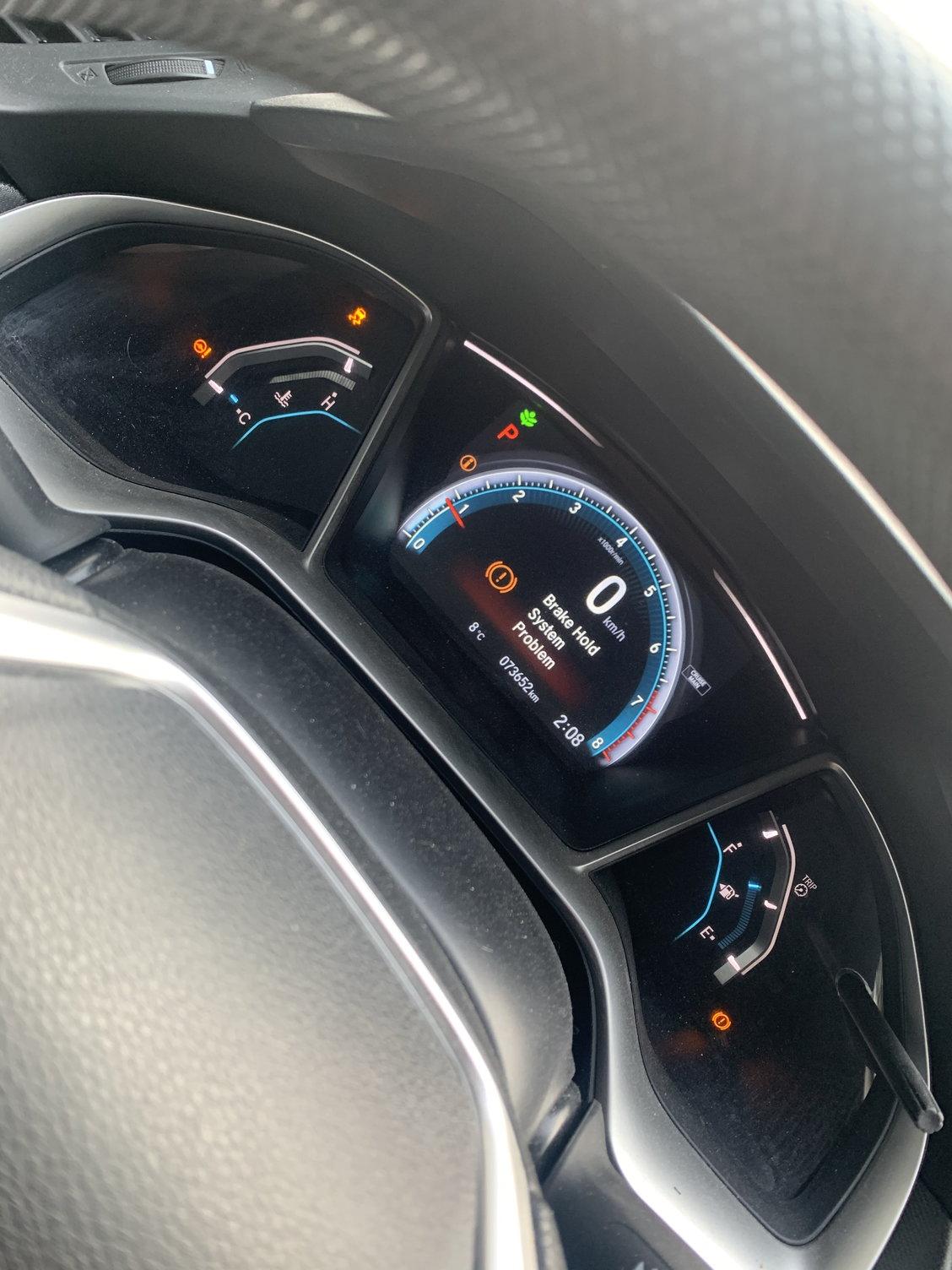 2016 Honda Civic Dashboard : honda, civic, dashboard, Solution;, Honda, Civic;, Multiple, Warnings, Dash., Assist, Civic, Forum