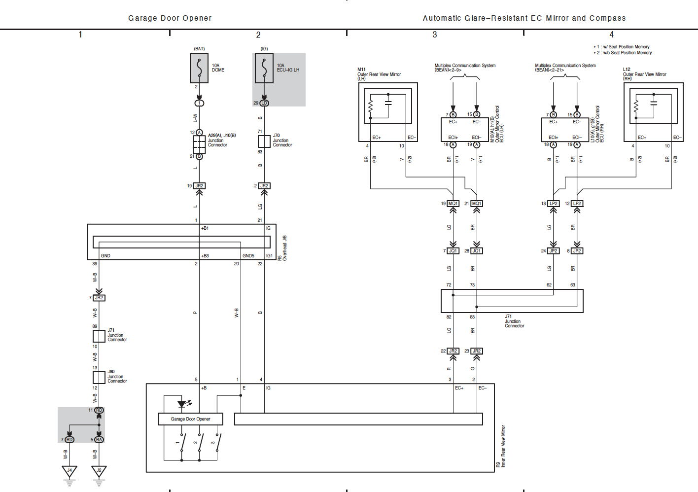 Gentex Mirror Wiring Diagram General Discussion Wiring