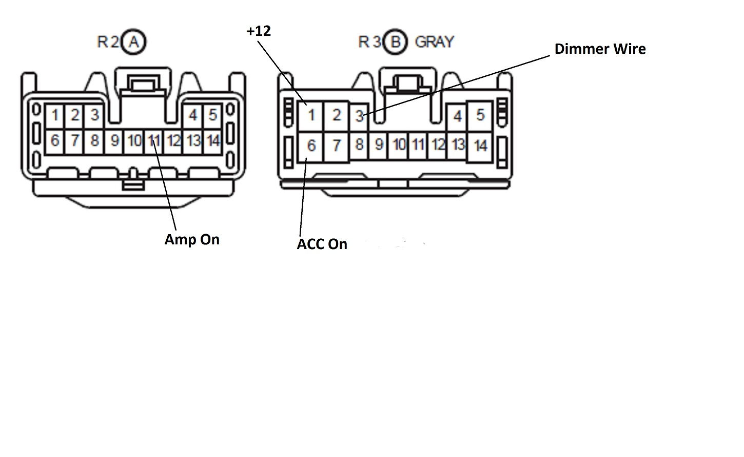 stock radio wiring diagram