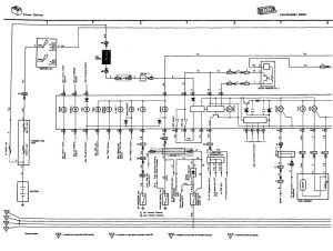 Wiring diagram for instrument cluster for 91 LS400  Club