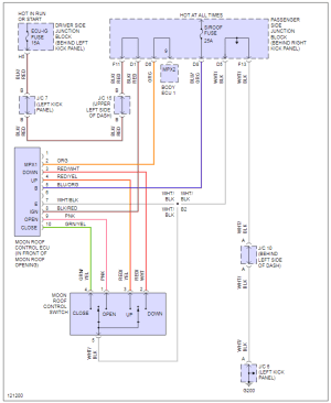 Sunroof wiring diagram  ClubLexus  Lexus Forum Discussion