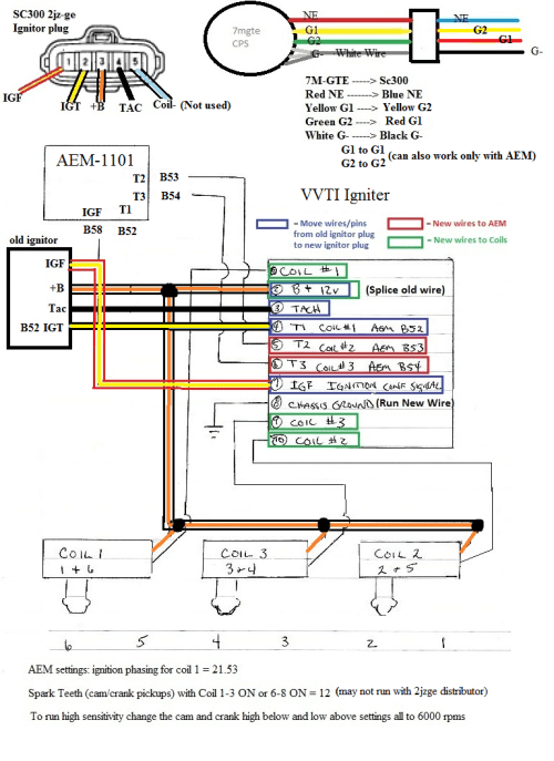 small resolution of lexus is300 coil wiring diagram wiring diagrams diagram of coil pack on 96 lexus es300