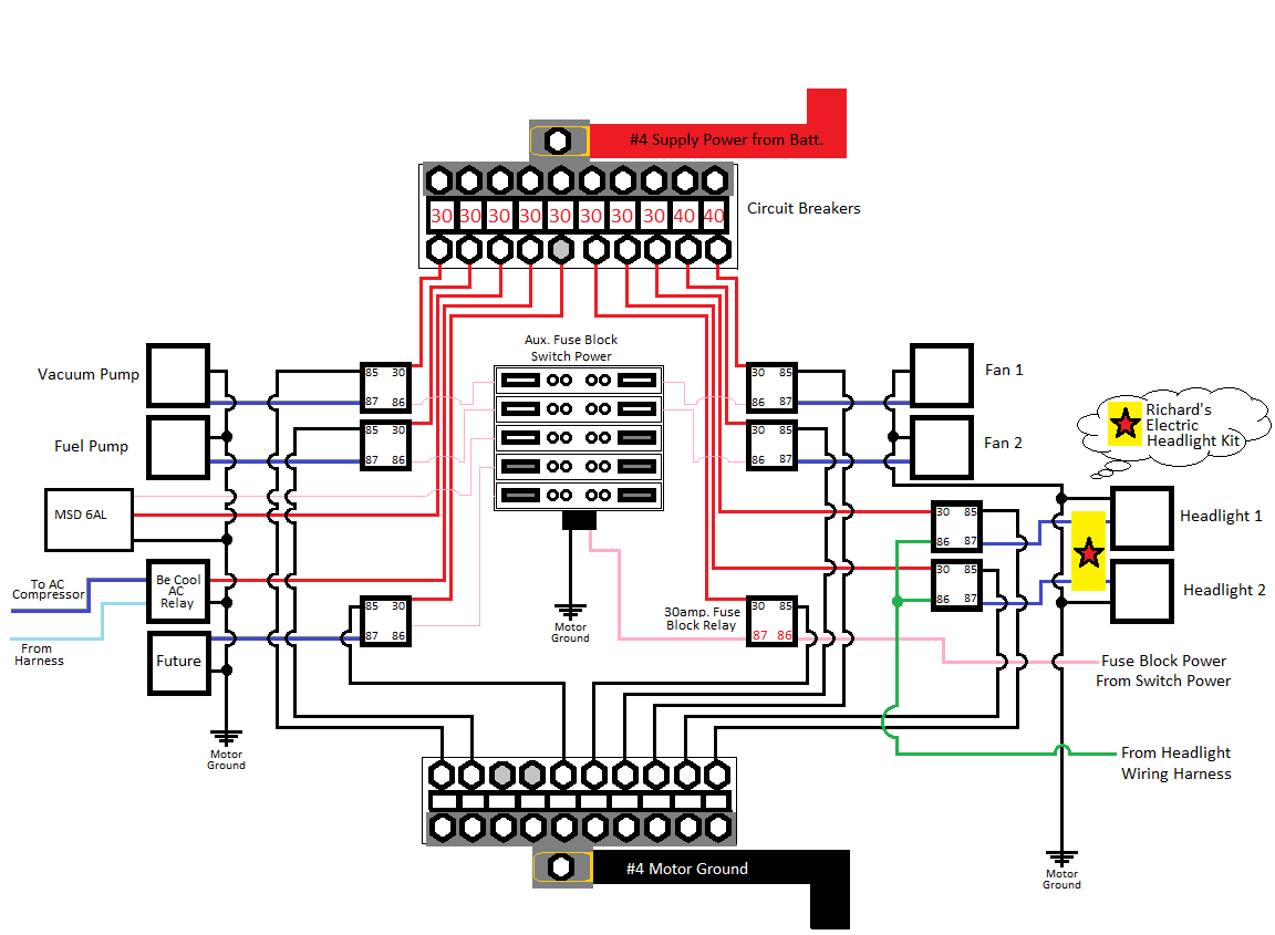 Bosch 75 Amp Relay Wiring Diagram