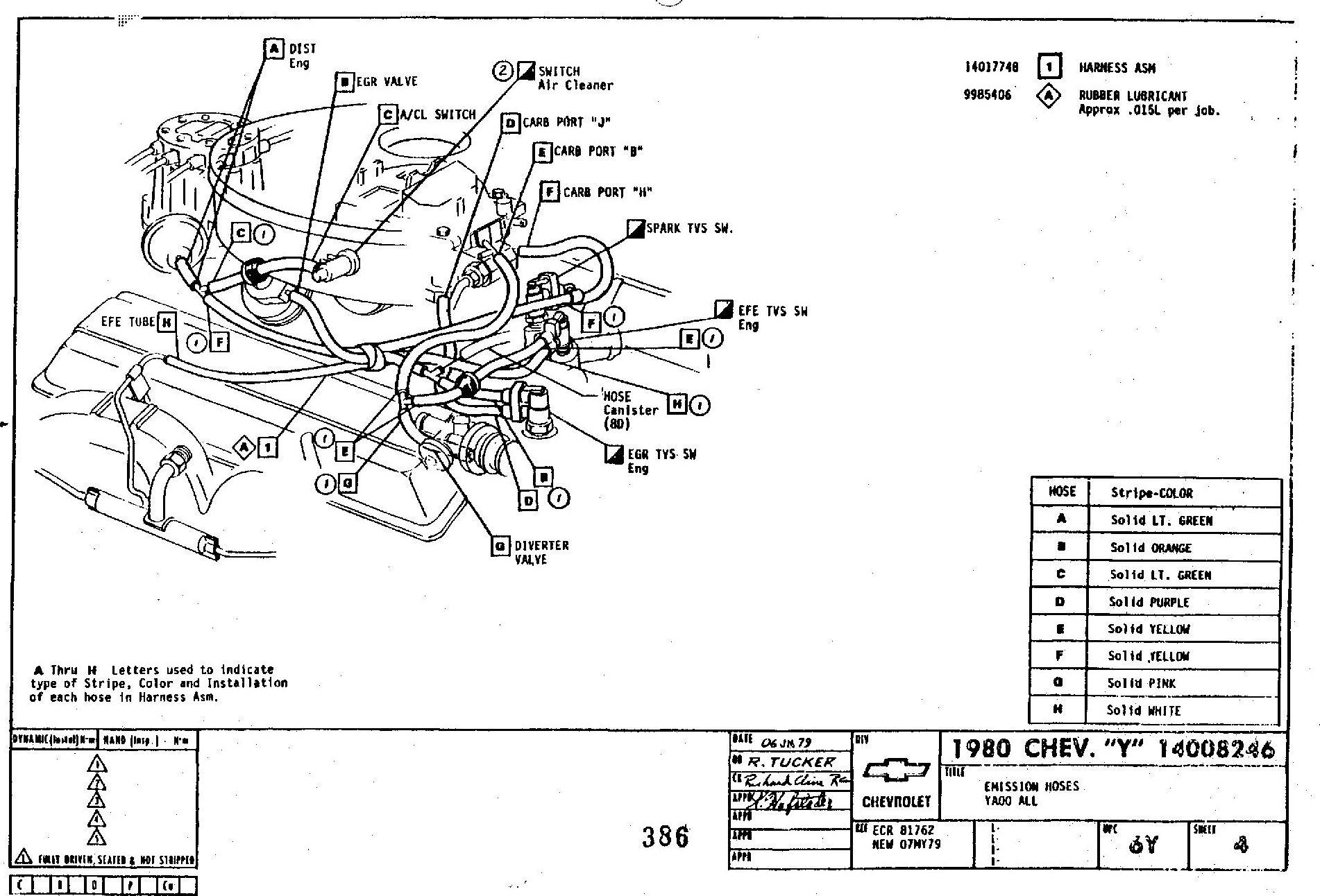 1982 corvette wiring diagram 2001 nissan frontier engine l82 auto