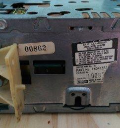 part number on radio [ 1999 x 1130 Pixel ]