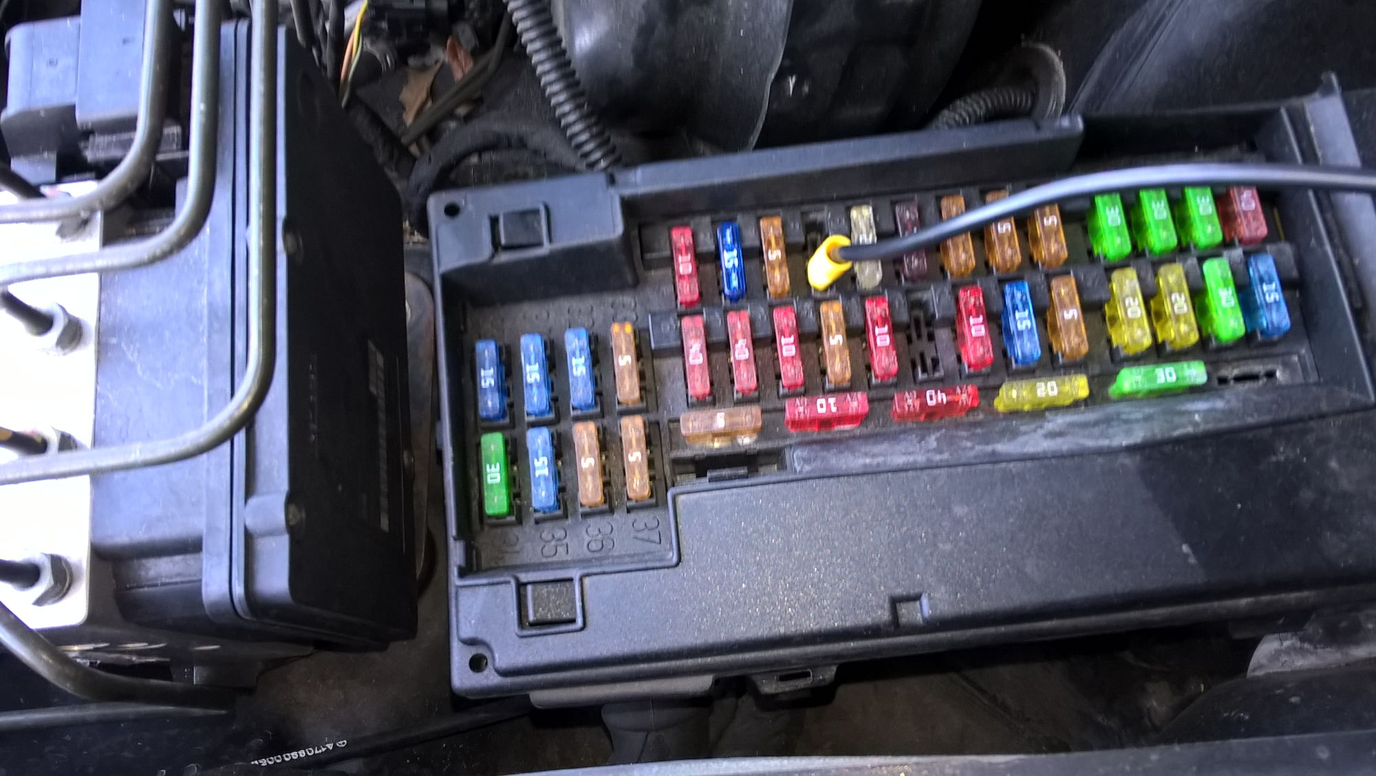 hight resolution of chrysler crossfire fuse box 2005 crossfire power seat