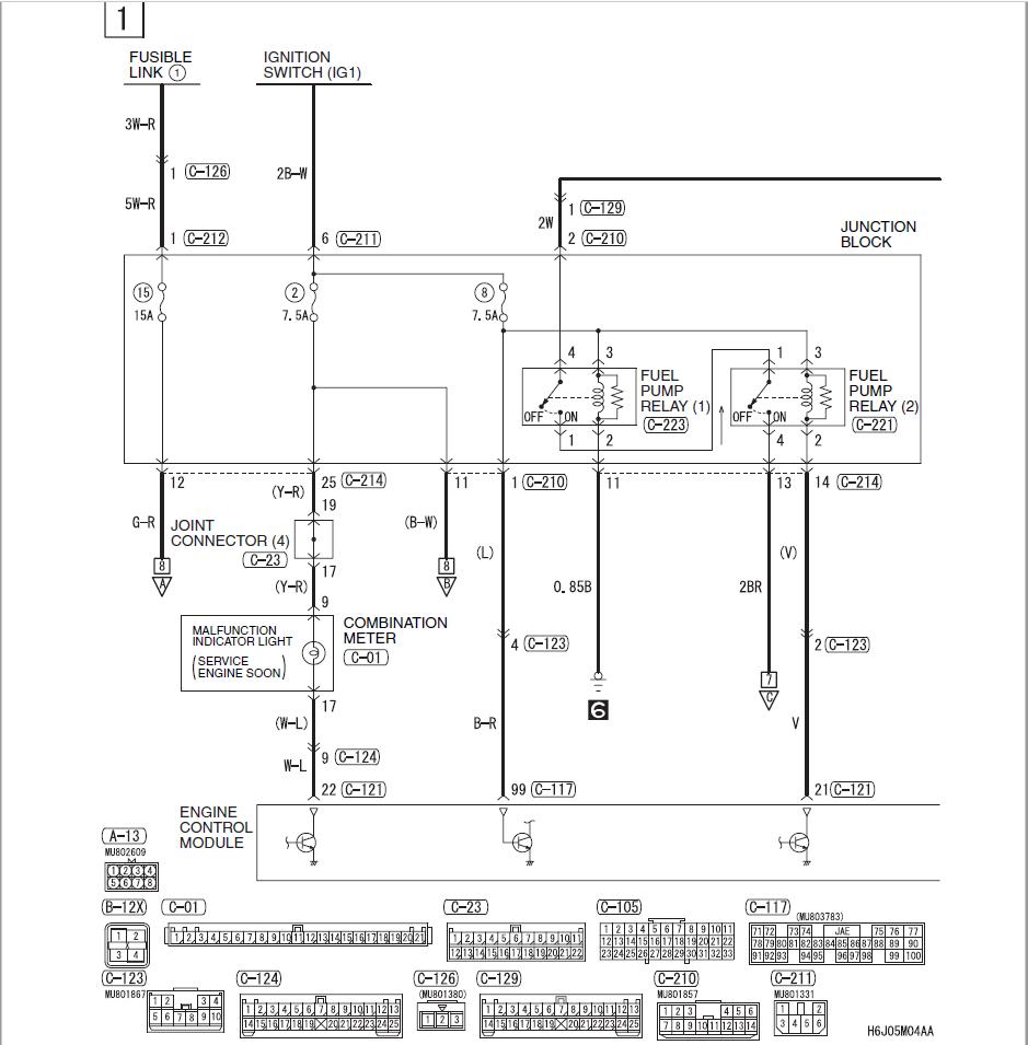 medium resolution of evo 8 fuel pump wiring diagram 30 wiring diagram images evo 8 injector wiring diagram evo