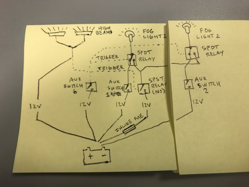 Here Is A Drawing That Shows How To Connect Two Spdt Switches To The