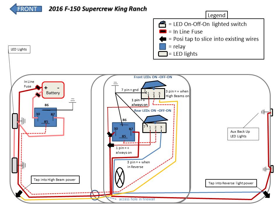 bumper light wiring diagram