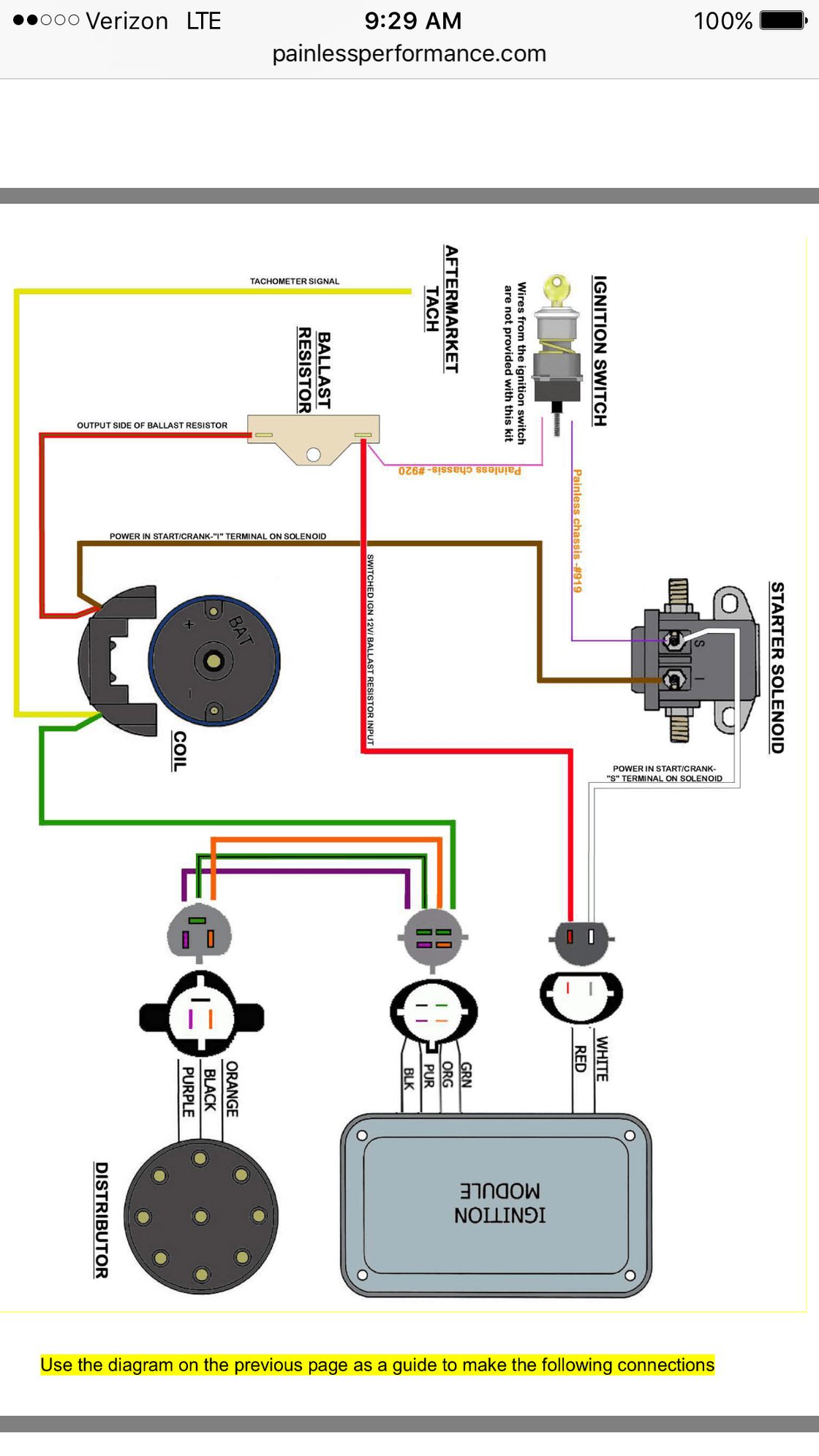 ford duraspark 2 wiring diagram hiniker v plow painless ii question truck enthusiasts forums