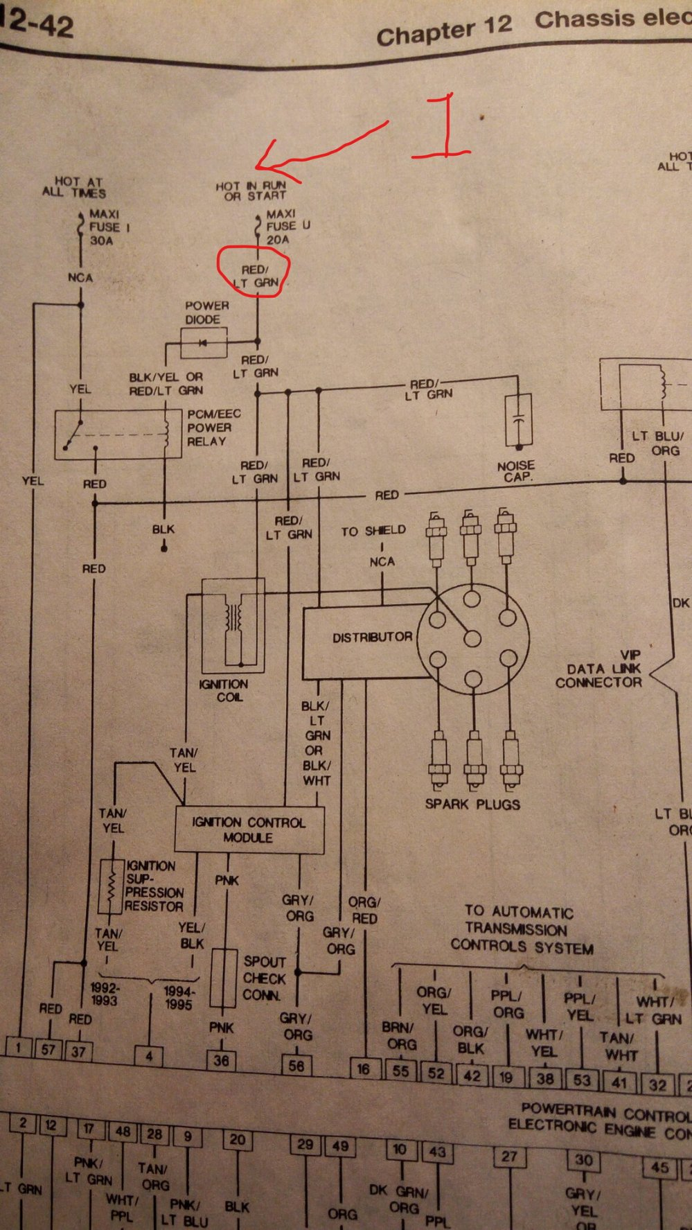 medium resolution of hello all i m hoping you can help the wiring diagrams i have access to are very limited i have a no spark issue on a vehicle that sat for a few years
