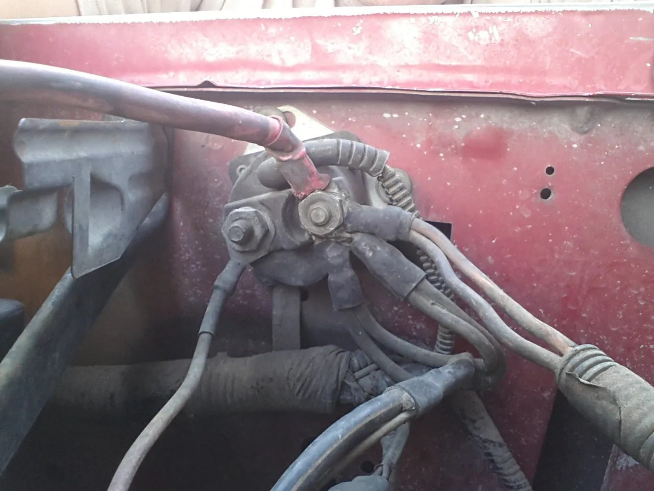 hight resolution of 1993 f350 7 3 fender solenoid wiring ford truck enthusiasts forumsthis is mine not sure