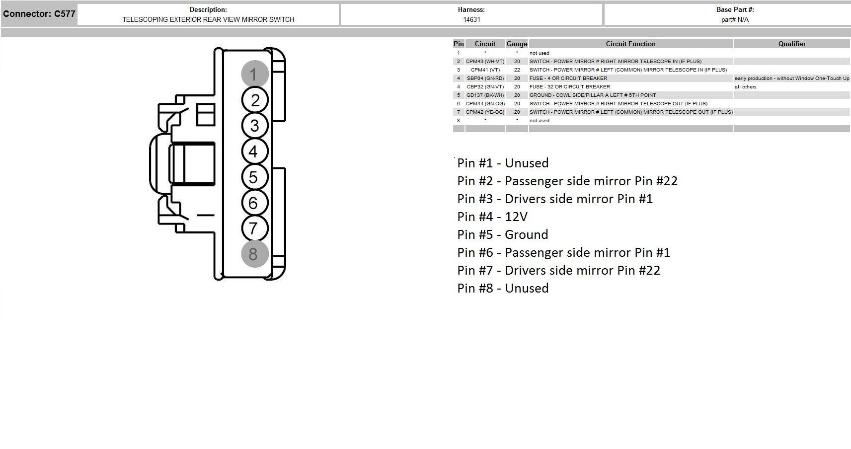 Fantastic Velvac Mirror Wiring Diagram Chevrolet Wiring Library Wiring 101 Cajosaxxcnl