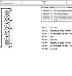 ford power mirror switch wiring diagram wiring diagram experts 2006 f150 power mirror wiring diagram 08 [ 1713 x 904 Pixel ]