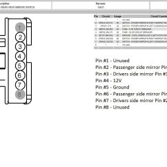 7 Pin Wiring Diagram Truck Side 1967 Firebird 08 43 Mirrors Up Pf Pt Using Stock Parts Ford