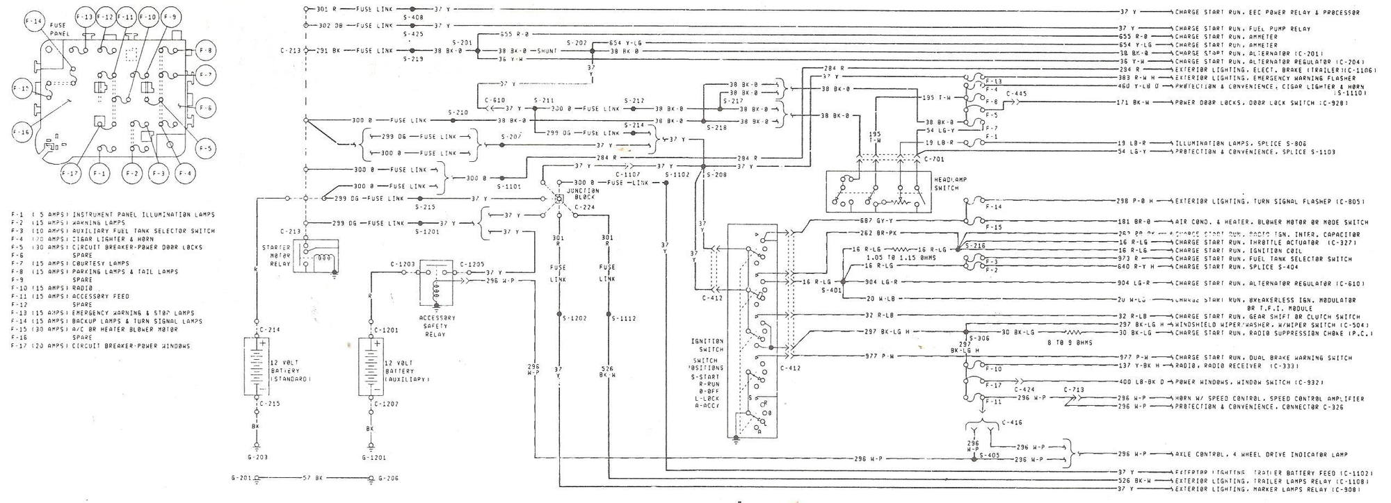 Alternator Wiring Diagram 1984 F150 302, Alternator, Free