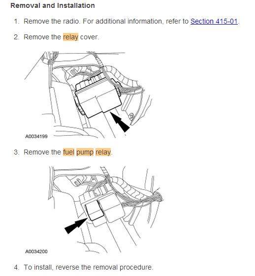 ford fuel pump wiring diagram schemes a fuse box ford