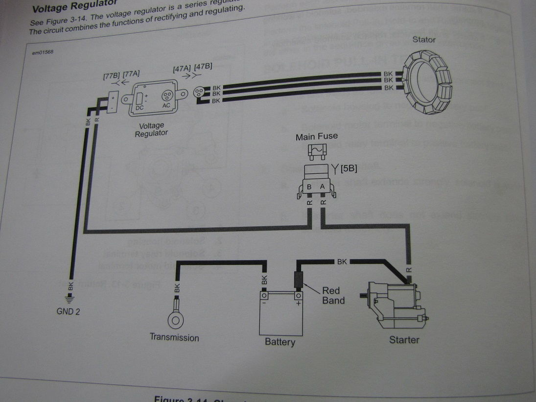 Ill 4 Wiring Diagram Of A Threephase Alternator Circuit