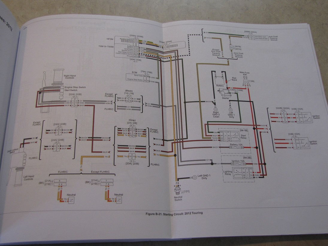 Street Glide Wiring Diagram On 2005 Harley Davidson Road King Wiring