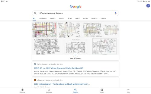 small resolution of  google search like this and click on the 1st one that i show highlighted and you should find the harley service info page for all the wiring diagrams