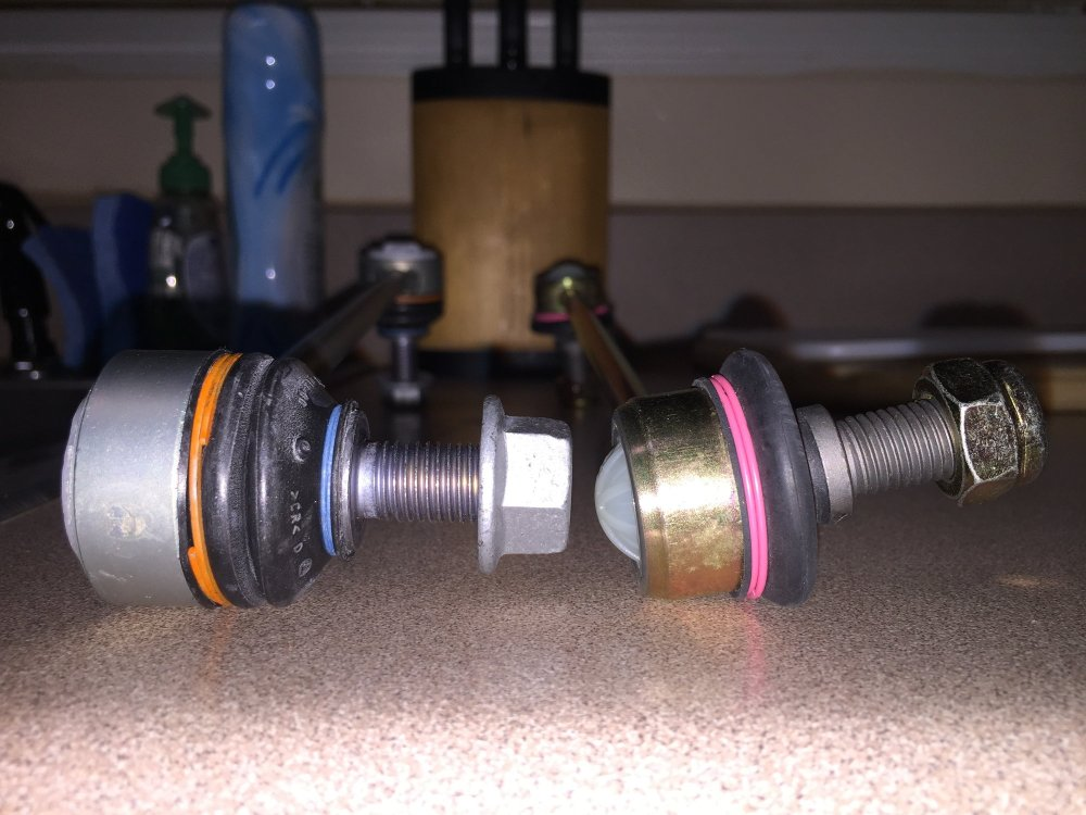medium resolution of b a didn t even have a rotating ball joint either they sent me the wrongs ones or b a is complete crap