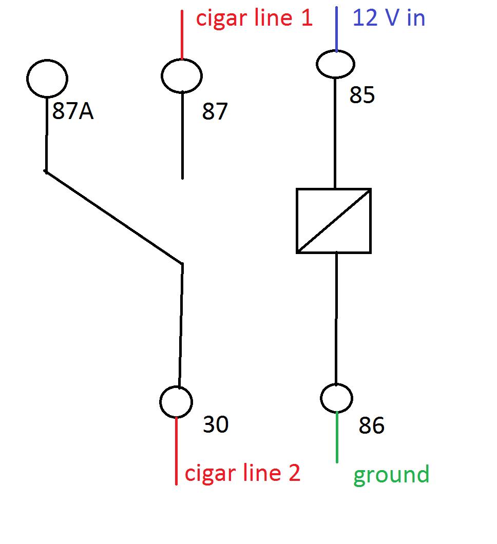 Wiring Manual PDF: 12v Cigarette Socket Wiring Diagram