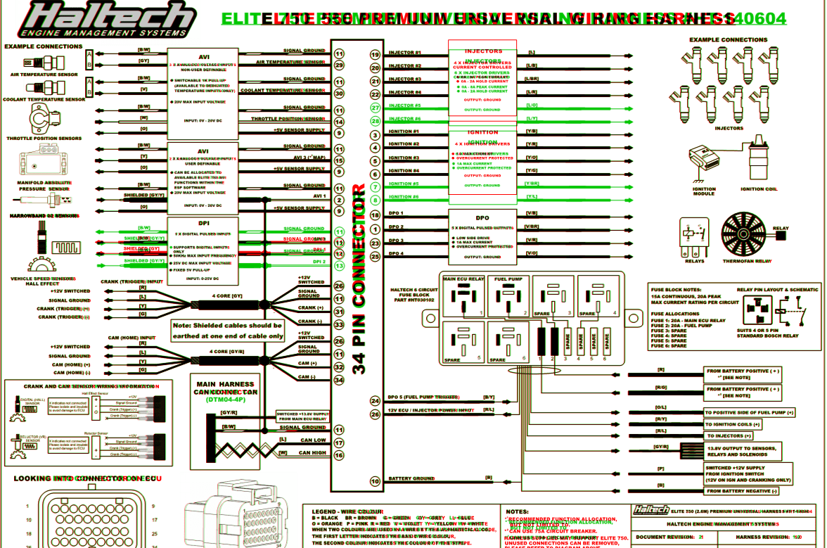 haltech e11v2 wiring diagram 2000 nissan xterra engine schematic in 550 elite first rx7club com mazda pinout diagrams and