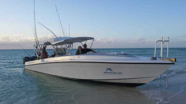 Custom Center Console Bimini - Year of Clean Water