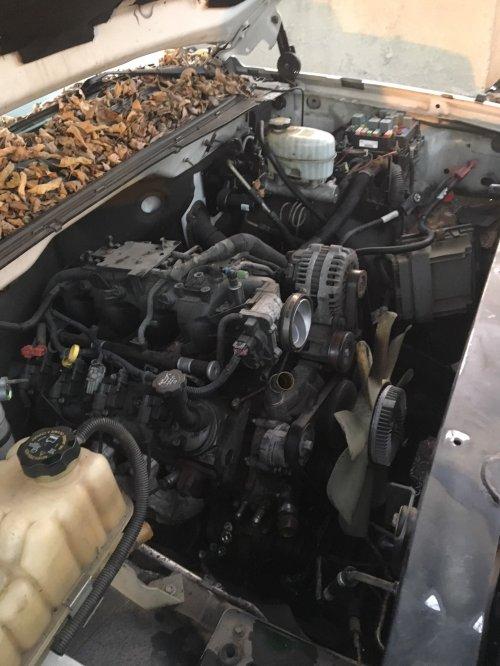 small resolution of donor motor lq4 4l80e 2wd