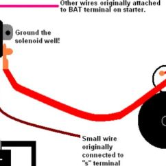 Basic Race Car Wiring Diagram Century Ac Motor How To Wire Remote Solenoid On Gear Reduction Starter? - Third Generation F-body Message Boards