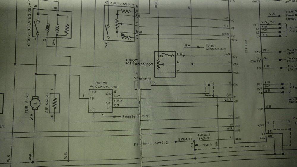 medium resolution of 22re wiring diagrams