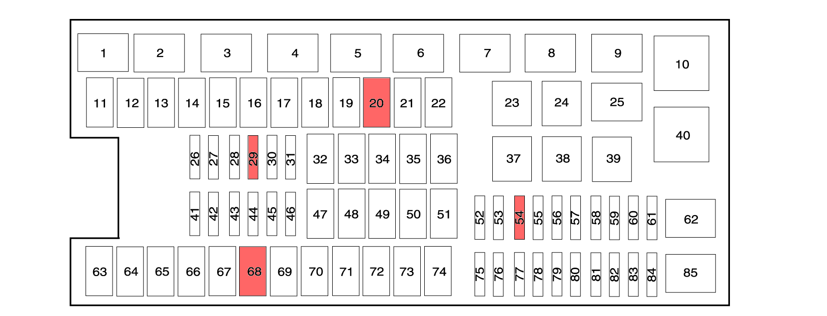 2011 F250 Fuse Box Auto Electrical Wiring Diagram 1996 E150 Panel