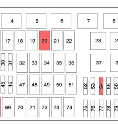 1999 e250 fuse panel diagram [ 1653 x 633 Pixel ]