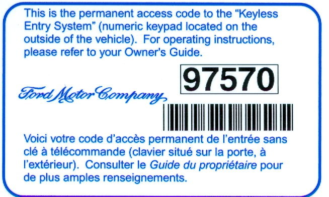 85 Ford F250 Wiring Diagram Ford F150 F250 Reprogram Door Keypad Code How To Ford Trucks