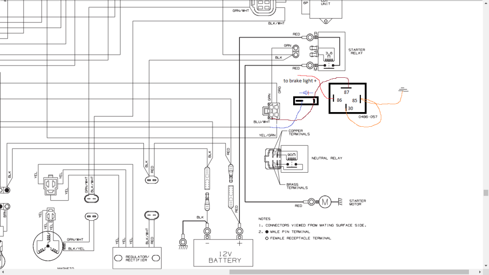 medium resolution of wiring diagram with schematics for a 1998 400 4x4 arctic 1998 arctic cat 300 4x4 wiring
