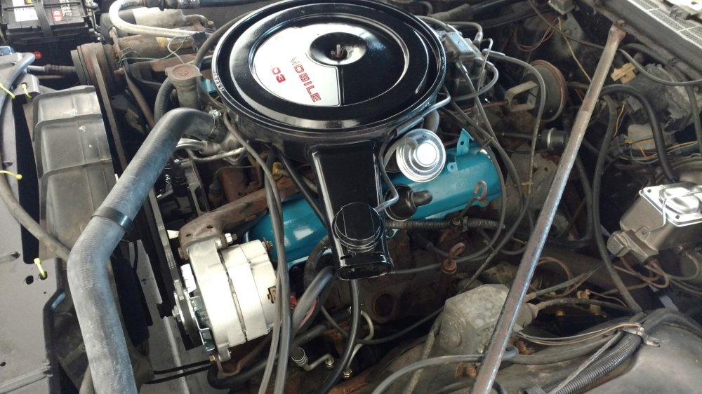 medium resolution of overall a mix of old and new and certainly not a show quality engine compartment but one thing at a time it looks a lot better than it did five months
