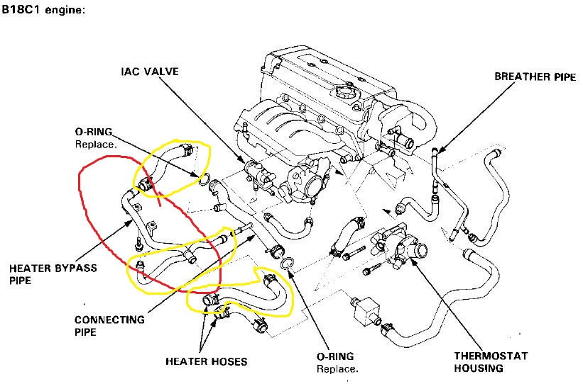 1999 acura rl engine diagram