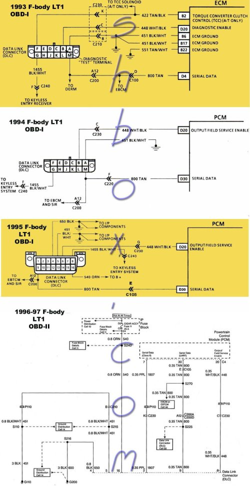 small resolution of lt1 only runs on starter fluid ls1tech camaro and firebird camaro obd1 data link connectors dlc camaro diagrams pinterest