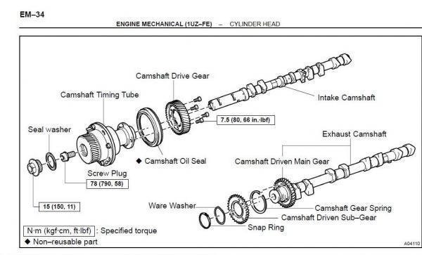 Service manual [How To Remove 2004 Lexus Rx Crankshaft Der