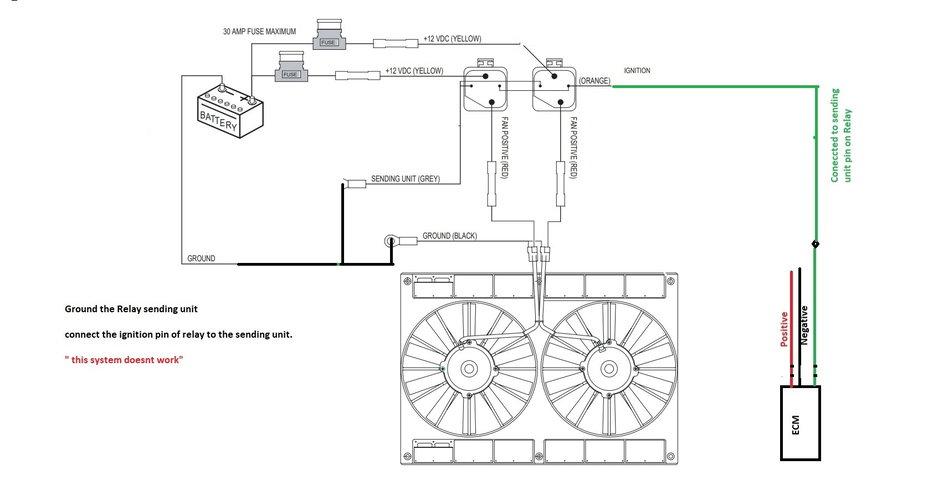 Dewitt Radiator Corvette Electric Fan Wiring Diagram