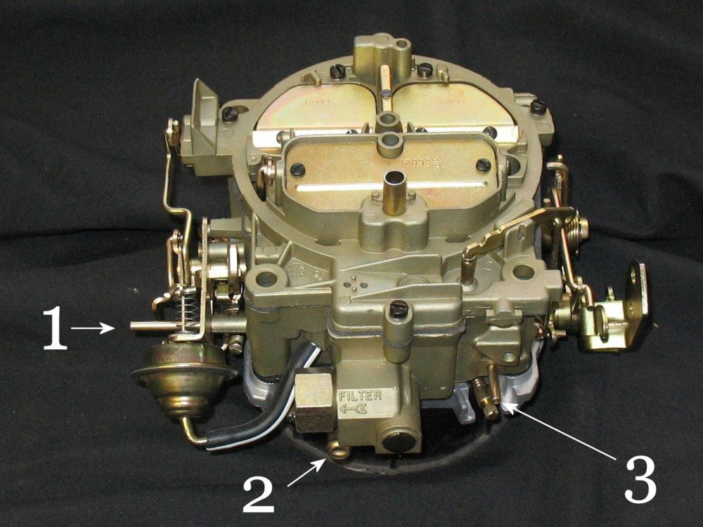 medium resolution of this carb is going on my 1972 vette to replace the original q jet 4mv 7042203 same as the original on the car