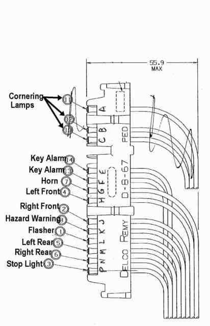 1980 camaro wiring diagram turn signal